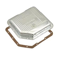 Mr Gasket 9761 Transmission Oil Pan, GM TH350, Chrome