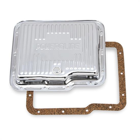 Mr Gasket 9769CMRG Transmission Oil Pan, GM Powerglide, Chrome
