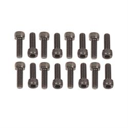 Mr Gasket 978G Socket Head Header Bolts, 8mm-1.25 x 25mm
