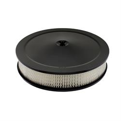 Mr Gasket 9790BP Competition Air Cleaner, Flat Black, 14 Inch