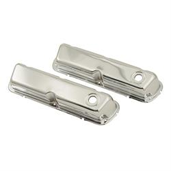 Mr Gasket 9804 Chrome Valve Covers, SBF 260-351W