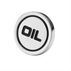 Mr Gasket 9815 Oil Filler Cap Plug, Push-In Style