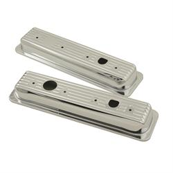 Mr Gasket 9847 Chrome Valve Cover Caps, 1987-97 SBC 305/350