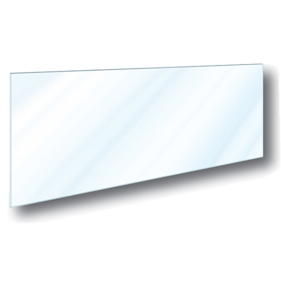 Taylor TG4000-2 TOP Glass Window Material, 1/8 Inch Thick