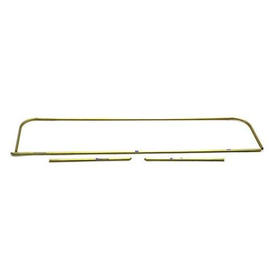 1915-22 Ford Model T Brass Glass Setting Channel for Open Cars