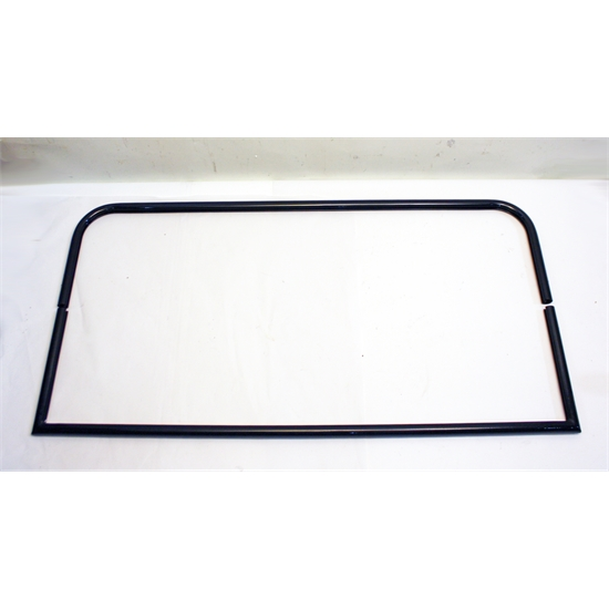 Garage Sale - Black 2 Piece Windshield Frame, 39-5/8 Inch