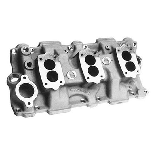 Offenhauser 1955-1986 Small Block Chevy Three Deuce Intake