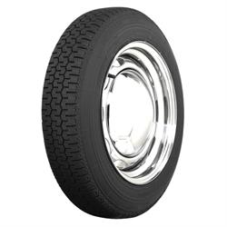 Coker Tire 56040 Michelin XZX Radial Tire, 145SR15