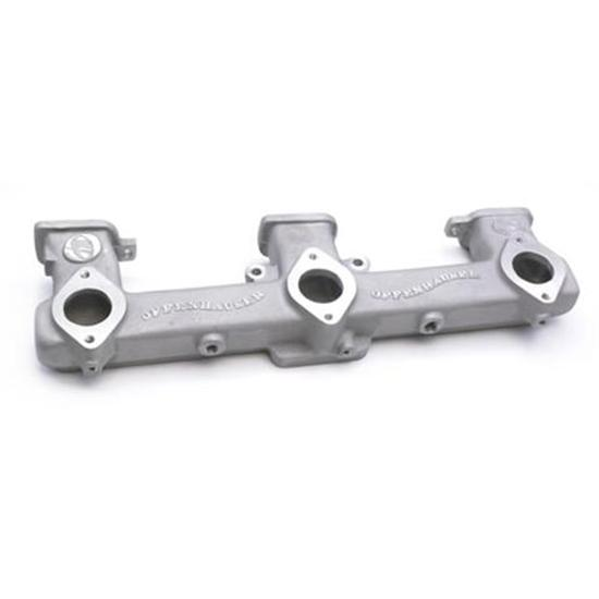 Offenhauser 5414 1963-75 Chevy 6-Cylinder Triple Carb Intake Manifold