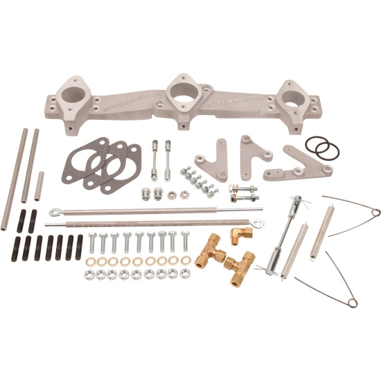 Details about Offenhauser 5970 1970-Up Ford 170-200-250 Inline 6 Cyl Triple  Manifold