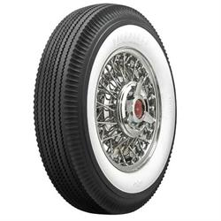 Firestone Vintage Bias Tire, 670-15 2.6875 Inch Whitewall