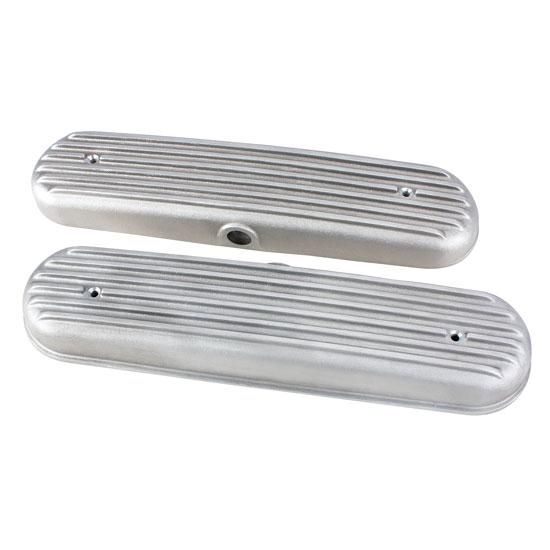 Chevy LS1/LS6 Finned Valve Covers, Plain