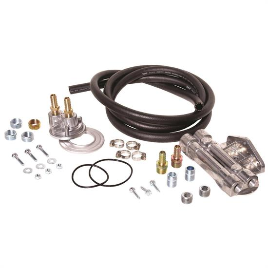 Perma-Cool 10795 Universal Dual Oil Filter Relocation System Kit
