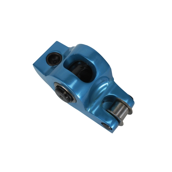 Blumax SBC Roller Rocker Arms, Split Ratio, 7/16 Stud