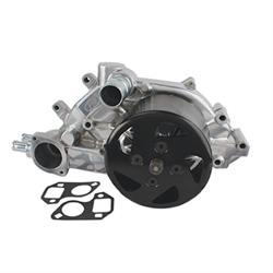LSX/Vortec Water Pump, Polished Aluminum