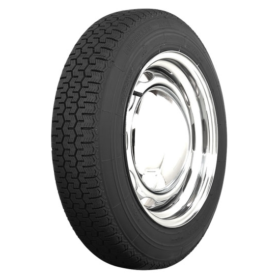 Coker Tire 57982 Michelin XZX Radial Tire, 165SR15