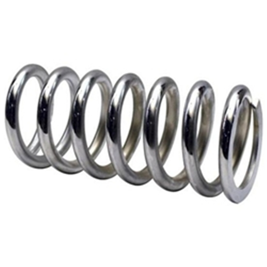 Garage Sale - Chrome Coil Spring, 2-1/2 ID, 7 Inch, 550 lbs.