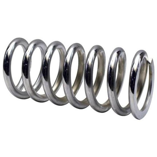 Garage Sale - Chrome Coil Spring, 2-1/2 ID, 9 Inch, 700 Lbs.
