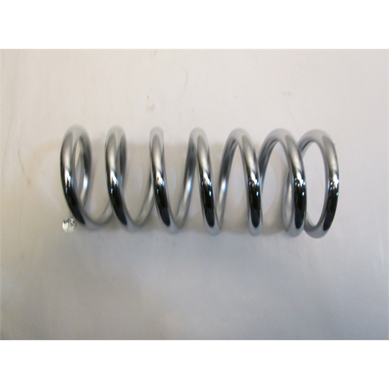 GARAGE SALE - 10 INCH 500LB 2 1/2 CHROME SPRING