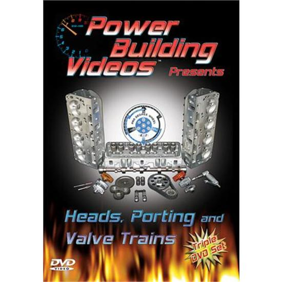Garage Sale - DVD - Power Building Videos, Heads, Porting/Valve Trains, 3 Disc Set