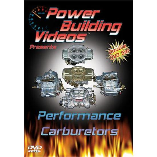 Garage Sale - DVD - Power Building Videos, Performance Carburetors, 2 Disc Set
