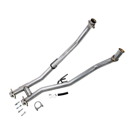 BBK 1507 1986-1993 Mustang 5.0L 2.5 Full Off-Road H-Pipe