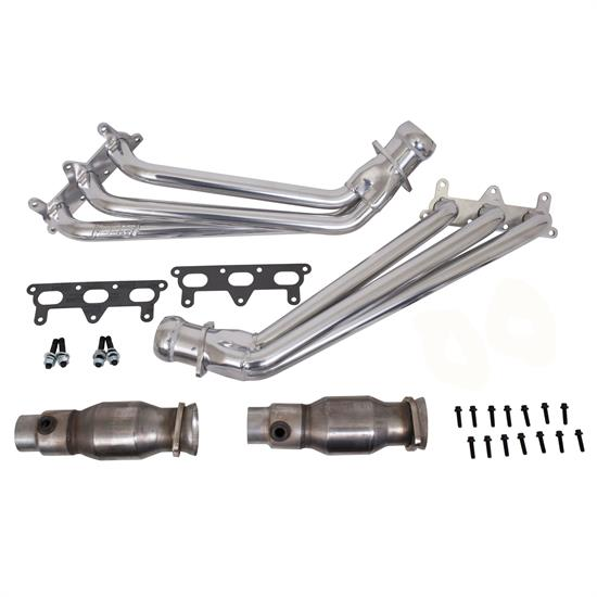 BBK 40410 Long Tube Headers W/Cats System (Ceramic)