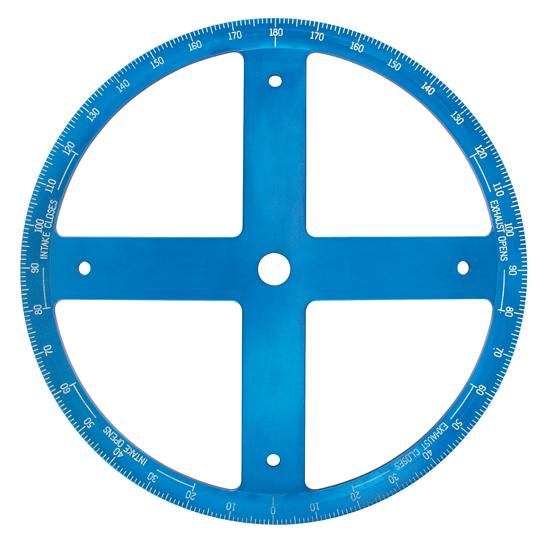 16 Inch Diameter Degree Wheel