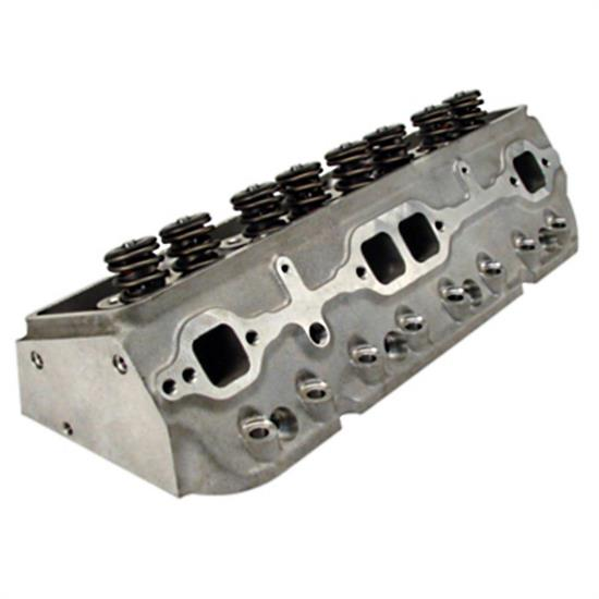 RHS 12047-01 Small Block Chevy Cylinder Head Assem., 235cc/Flat Tappet