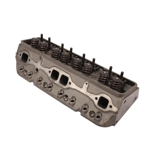 Rhs Pro Action Small Block Chevy Cast Iron Heads Angle Plug 220cc64cc