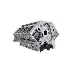 RHS 54905 LS Aluminum Race Block, 9.250 Standard Deck - 4.100 Bore