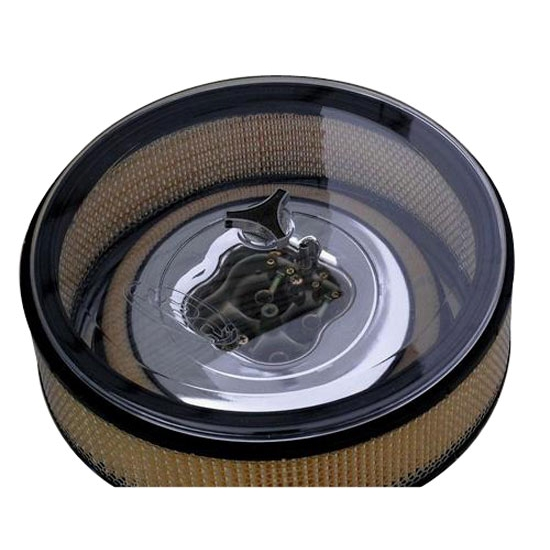 R2C Performance AC10521 Polycarbonate Clear Air Cleaner Top Lid, 14 In