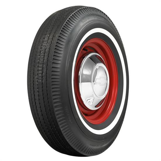 Coker Tire 60554 BF Goodrich 1 Inch Whitewall Tire- 8.55-15