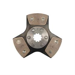 Ram Clutches 6951 Clutch Repair Parts, Chevy Dual Disc, 10 Spline