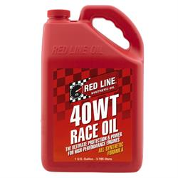 Red Line 10405 SAE 15W40 Racing Motor Oil, Gallon