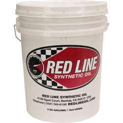 Red Line 11606 5W50 Synthetic Motor Oil, 5 Gallon