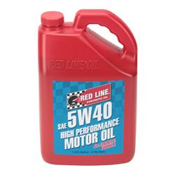Redline 15405 5W40 Synthetic Motor Oil, Gallon