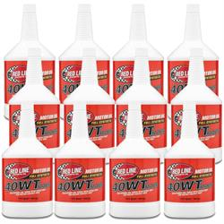 Red Line 10404 15W40 Racing Oil, 12 Quarts