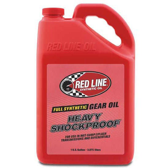 Redline 58205 Heavy ShockProof Synthetic Gear Oil, 1 Gallon