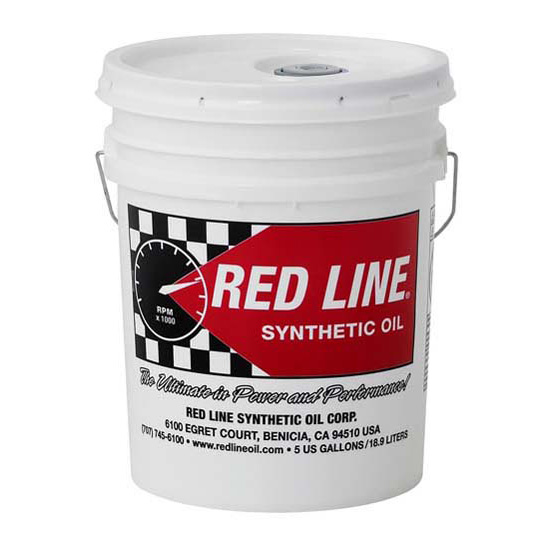 Redline 58206 Heavy ShockProof Gear Oil, 5 Gallons