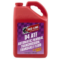 Red Line 30505 D4 ATF Automatic Transmission Fluid, Gallon