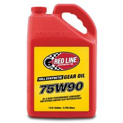 Red Line 57905 75W90 GL-5 Gear Oil, Gallon