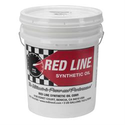 Red Line 57916 75W140 GL-5 Gear Oil, 5 Gallon