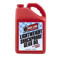Red Line 58405 Lightweight Shock Proof Gear Oil, Gallon
