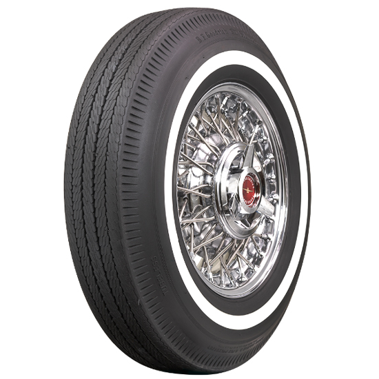 Coker Tire 60970 BF Goodrich, 1 Inch Whitewall, 815-15