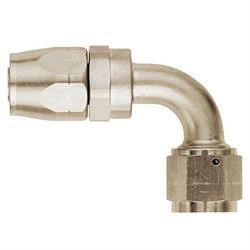 Aeroquip FCE4033 Nickel 90 Degree Hose End Coupler Fitting, -8 AN