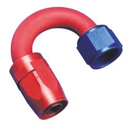 Aeroquip FBM4064 180   Hose End Coupler Fitting, Blue/Red, -10 AN