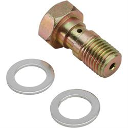Steel 7/16 Inch x 20 Brake Banjo Bolt