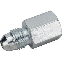Gauge Fitting, Straight AN4 Male, 1/8 Inch NPT Female