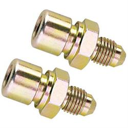 Straight 3/8 Inch-24 IFF to AN 4 Male Adapters